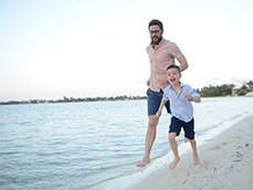 Family Portrait Session at Rum Point
