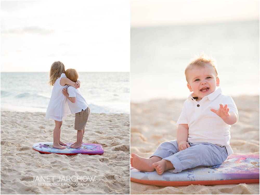 Family Beach Portraits by Janet Jarchow