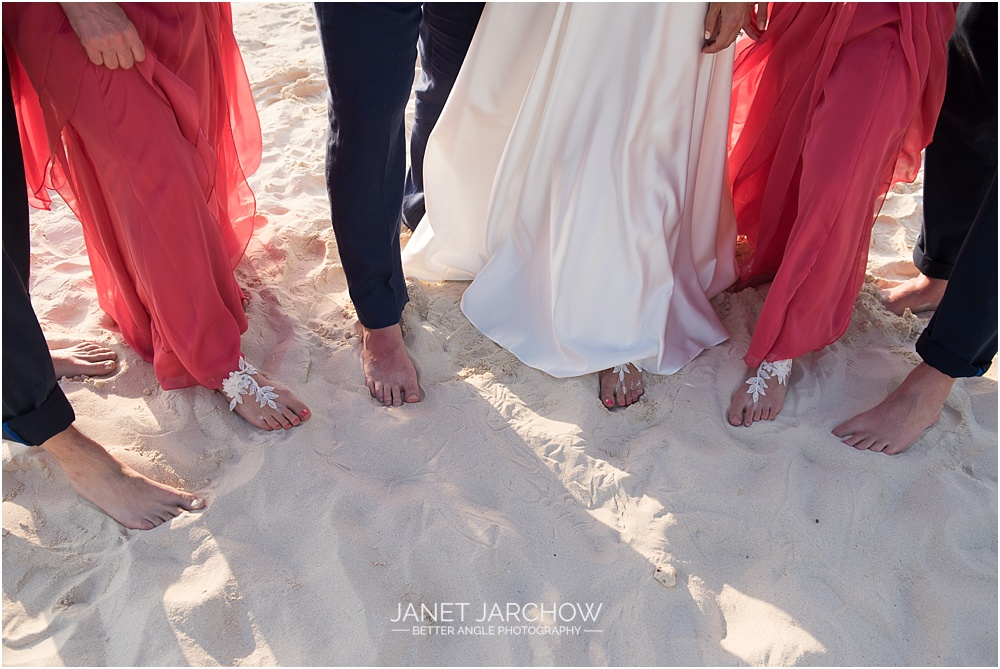 wedding beach sandals