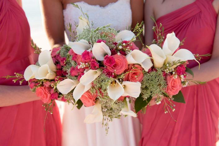 caribbean bridal bouquet