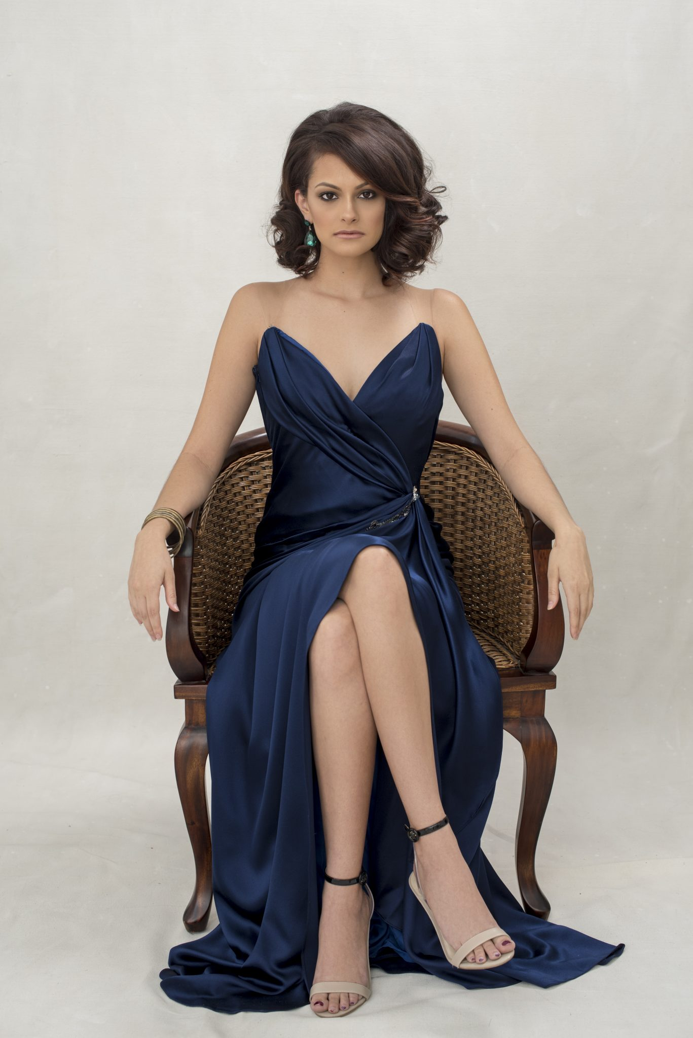 Gorgeous Ines di Santo evening gown