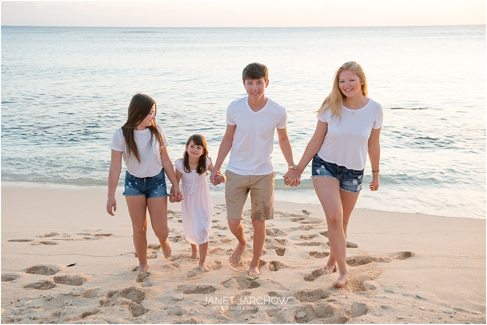 Family Portraits on West Bay Beach
