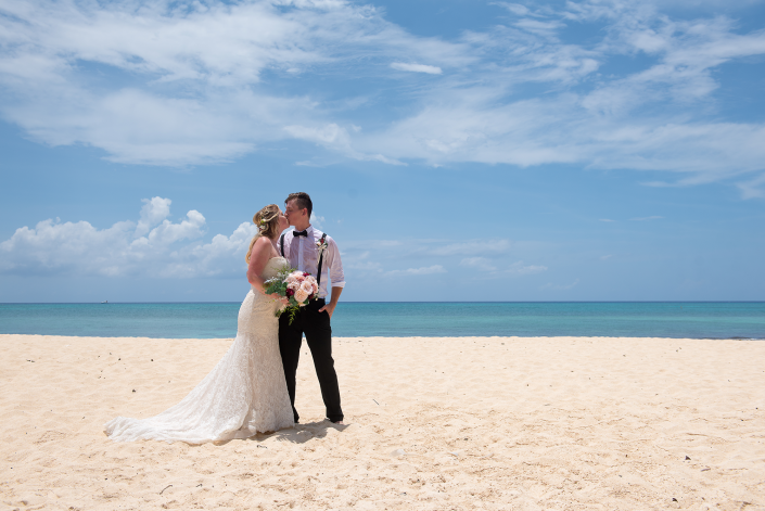 Alexis & Cameron - Intimate Beach Wedding