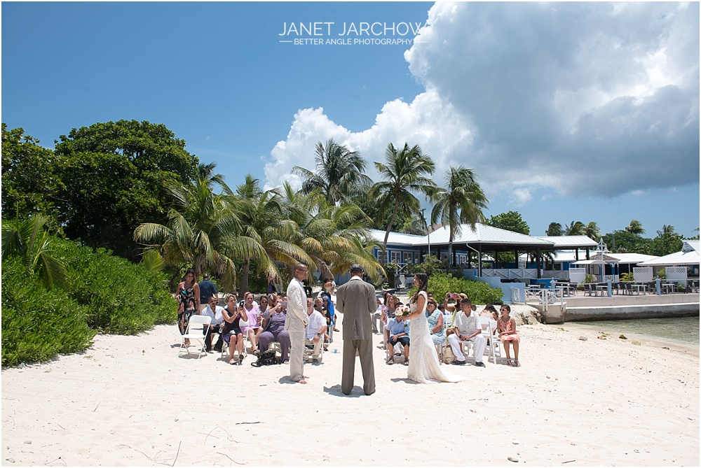 Wedding at the Wharf Restaurant, Grand Cayman