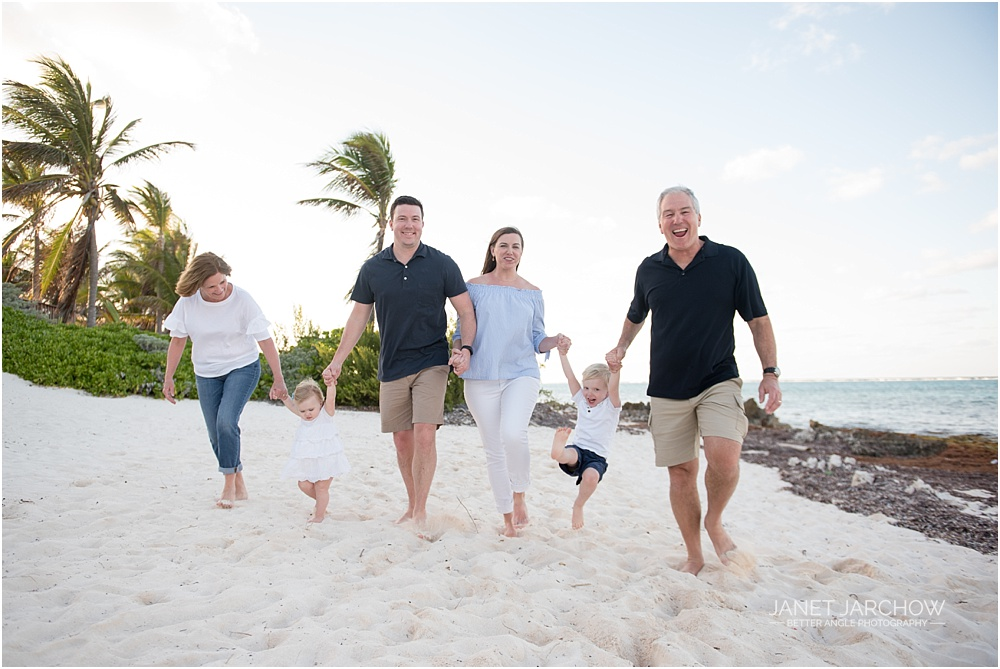 family portrait session in cayman's north side